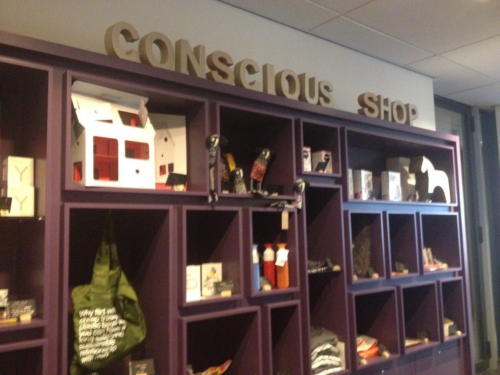 Conscious Shop features local and sustainable products and gift ideas.