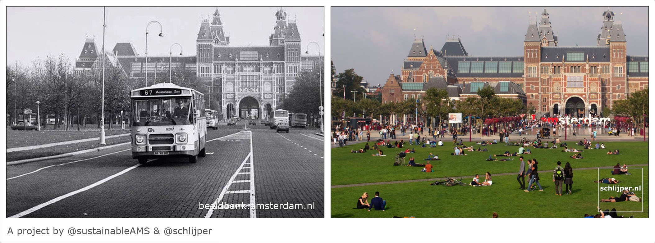 Museumplein comparison